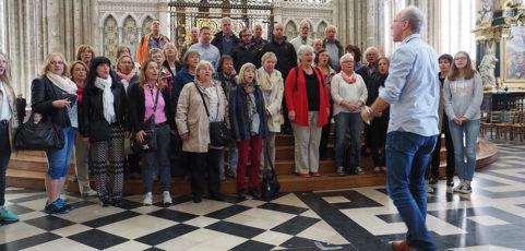 Chor sammelte in Amiens bleibende Eindrücke