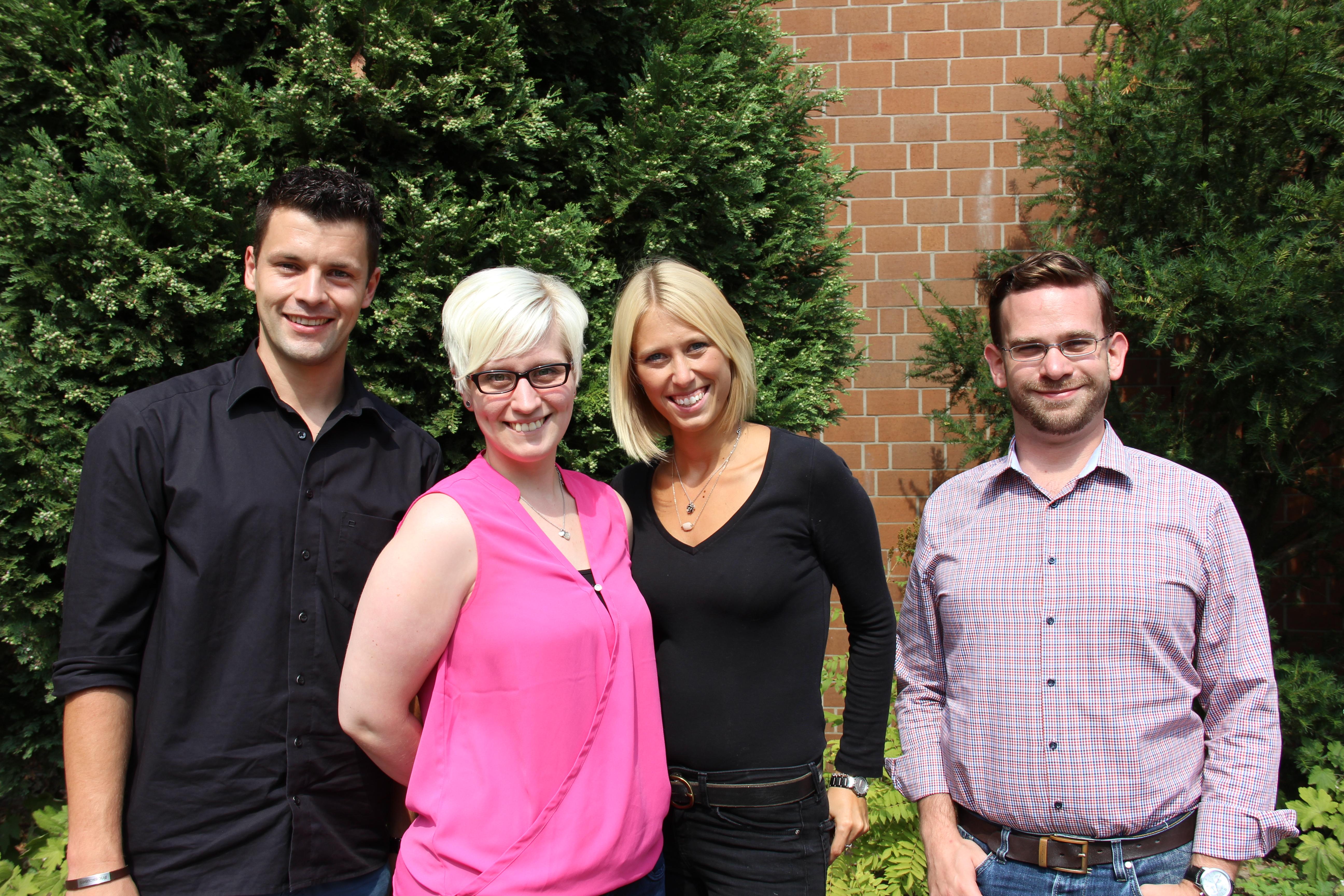 Mallinckrodt-Gymnasium begrüßt vier neue Lehrer