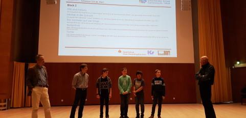 AG belegt 2. Platz bei Schülerfilmfestival NRW