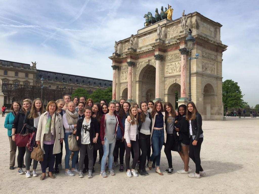 Französischkurs der Eph in Paris