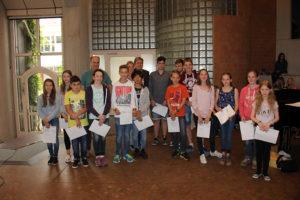 Geehrt wurden auch die Sieger im Wettbewerb Multimediales Mallinckrodt.