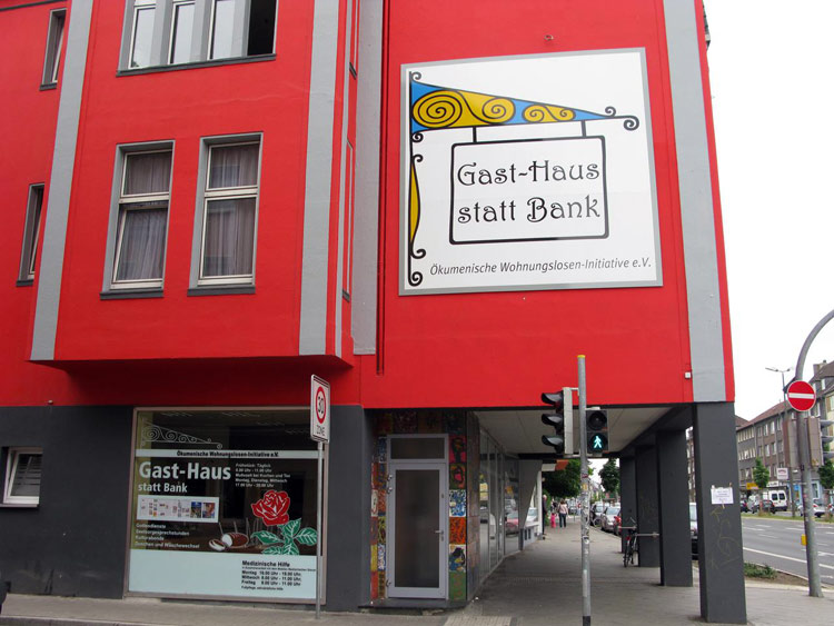"""Kollekte am Aschermittwoch für das """"Gast-Haus"""""""