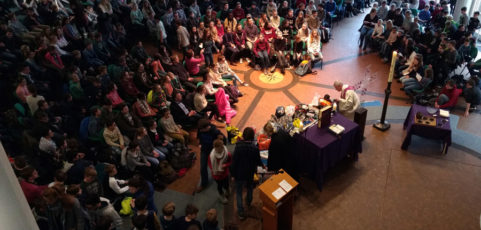 Mit vielen großzügigen Spenden die Fastenzeit begonnen