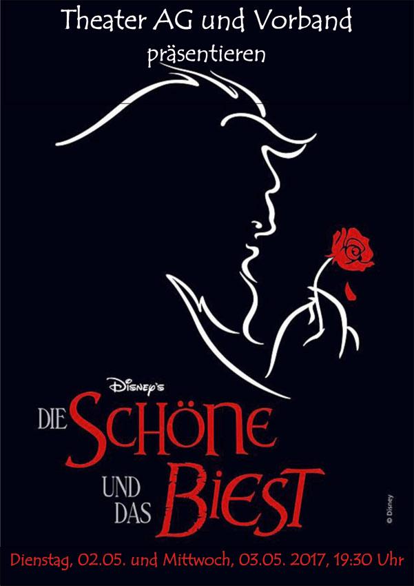 """Theater AG zeigt Disney-Klassiker """"Die Schöne und das Biest"""""""