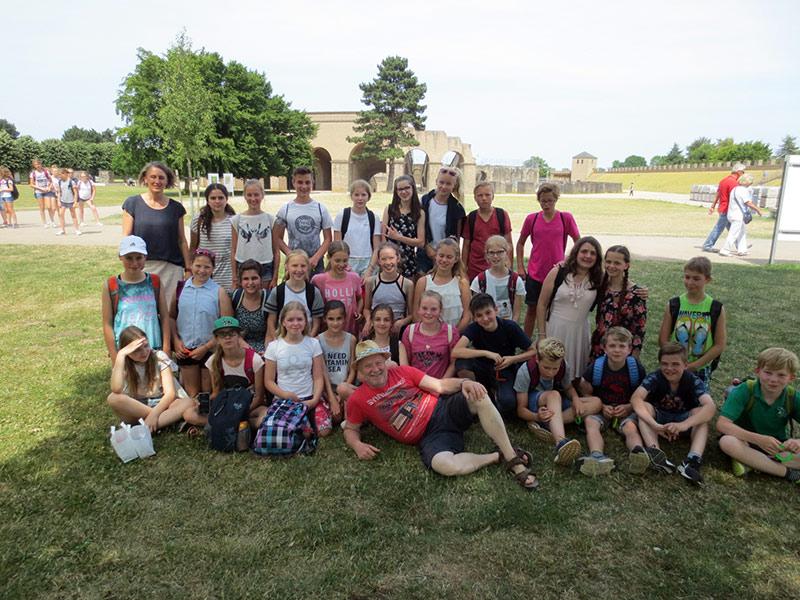 Trotz großer Hitze: Xanten-Exkursion ein voller Erfolg