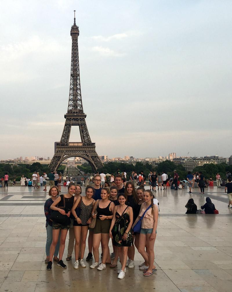 Französischkurs lässt in Paris kein Highlight aus