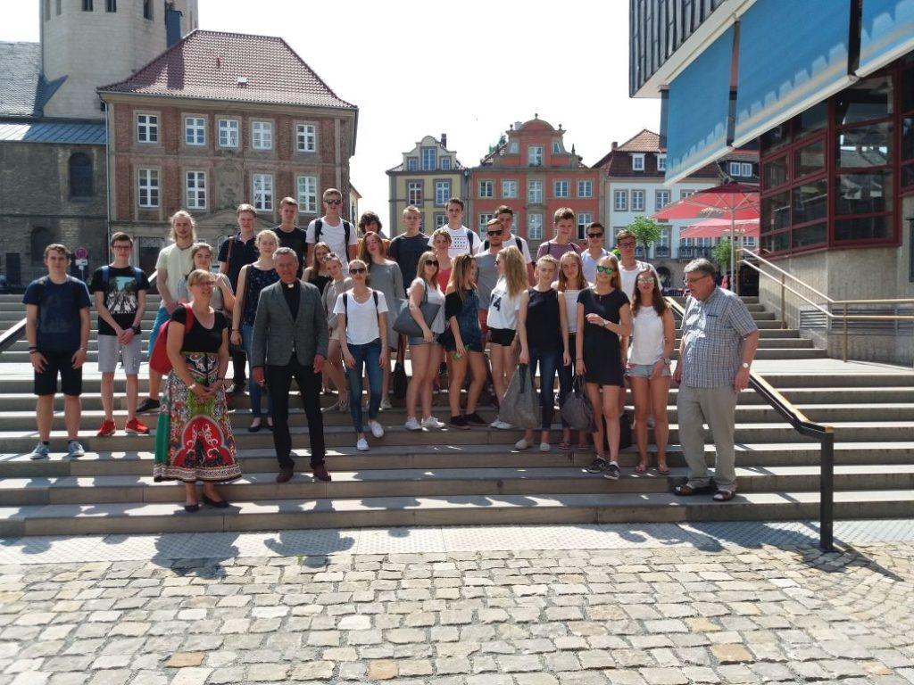 Q1-Religionskurse auf Exkursion nach Paderborn