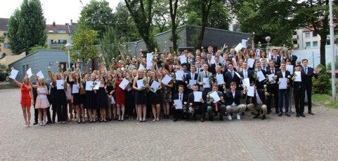Feierliche Verleihung der Abiturzeugnisse