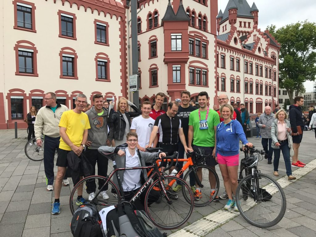 4 Mallinckrodt-Teams beim Triathlon am Phoenixsee