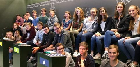 Sowi-Kurse lösen Gewinn in Brüssel ein