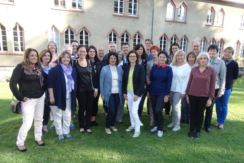 Vorbereitung des neuen Projekts Erasmus+
