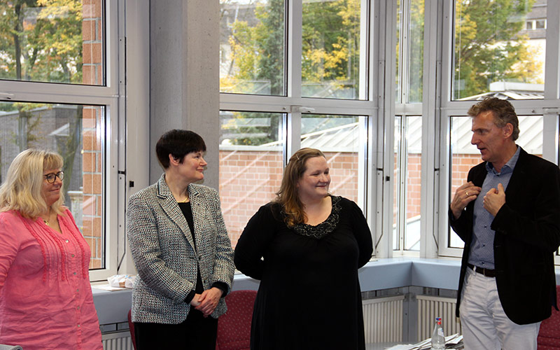 Besuch von der schottischen Partnerschule