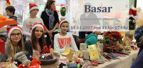 Unbedingt vormerken: Basar am 11. November 2017