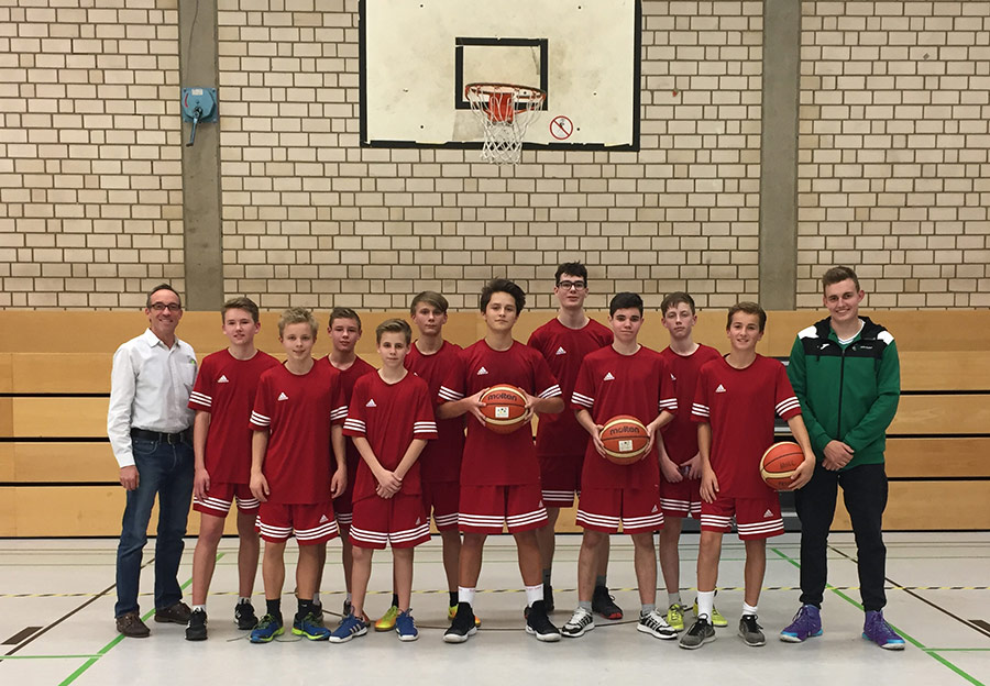 Zweiter Platz bei den Stadtmeisterschaften im Basketball