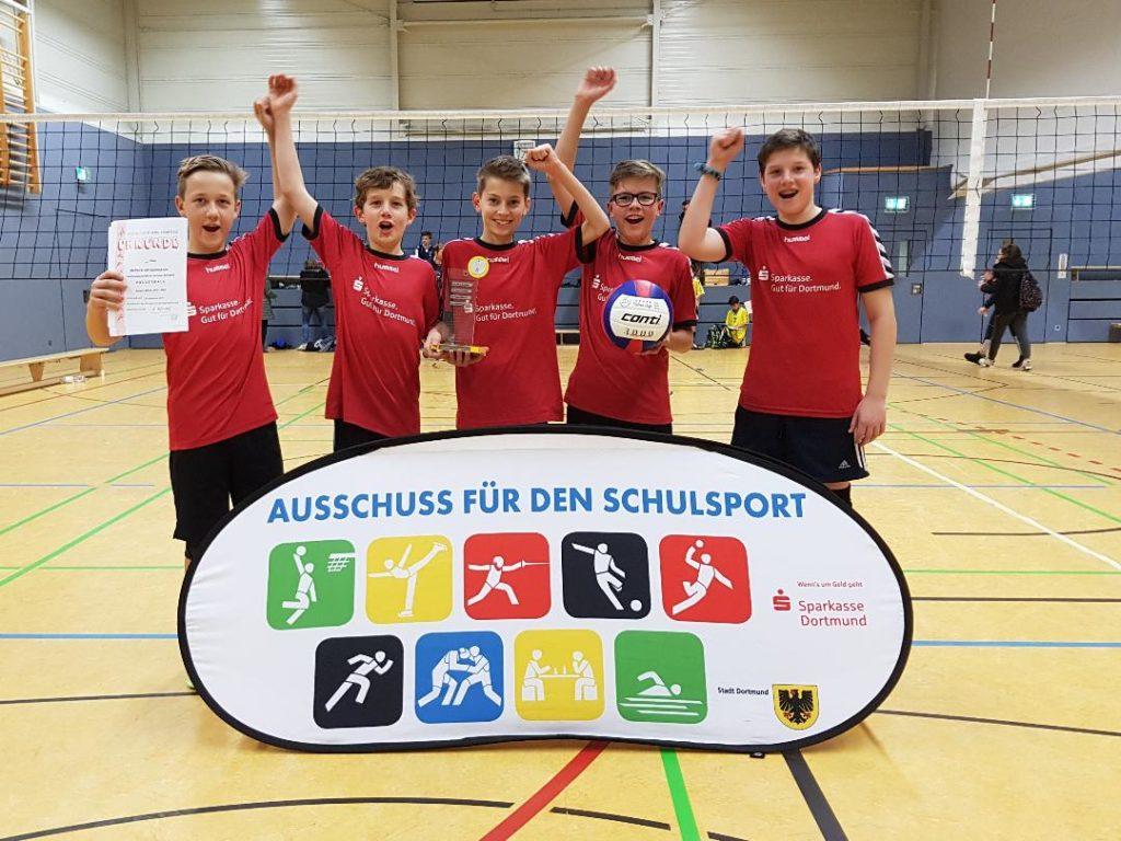 Mallinckrodt-Gymnasium wird Volleyball-Hochburg