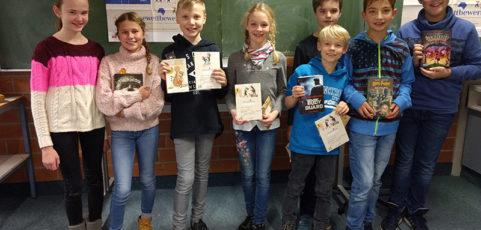 Lina Faßbender gewinnt Vorlesewettbewerb