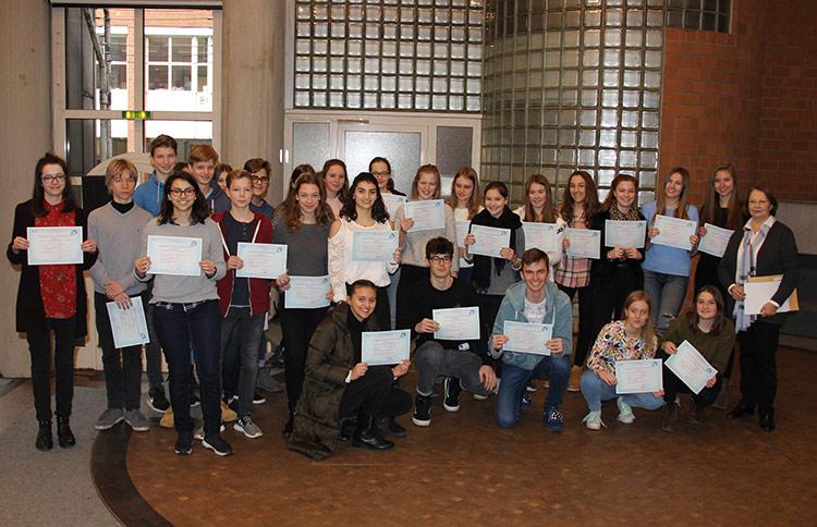 Französisches Sprachdiplom (DELF) bestanden