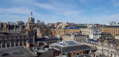 Tag 7 in Ayr: Glasgow-Besuch zum Abschluss