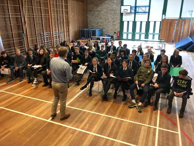 Tag 1 und 2 in Ayr: Einblicke in den Schulalltag