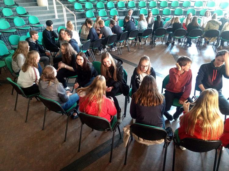 Belgien-Austausch: Besucher empfangen, Freunde verabschiedet