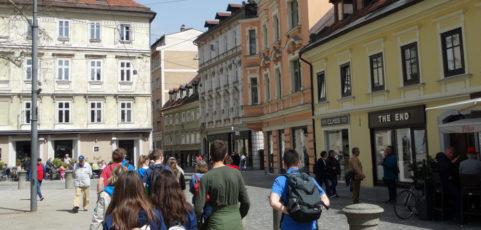 Tag 2 in Slowenien: Erste Arbeiten zum Thema Astronomie