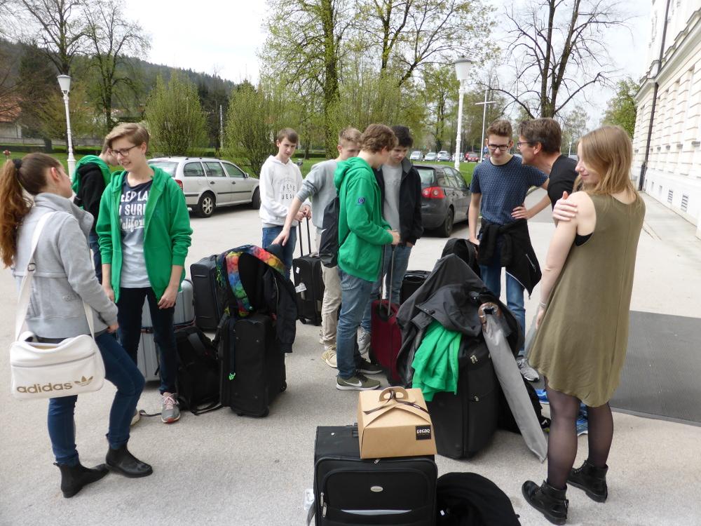 Tag 7 in Slowenien: Schwerer Abschied und reibungslose Rückreise
