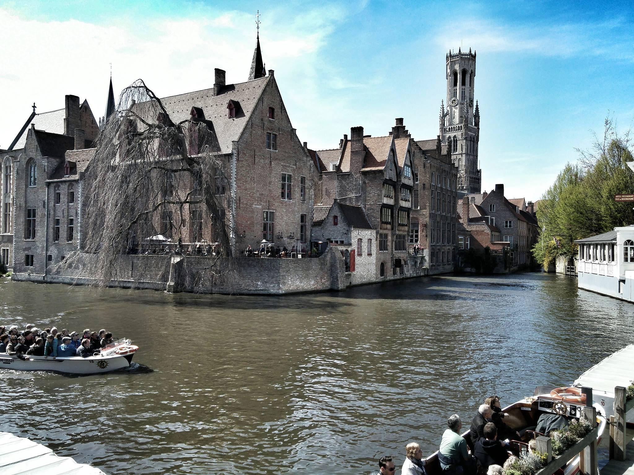Zwei Gruppen, ein Ziel: Westflandern (Belgien)