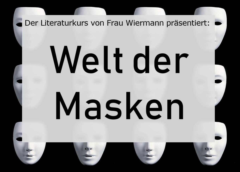 """Tiefgründiges Theaterstück über die """"Welt der Masken"""""""