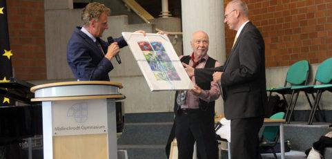Altgediente Kollegen vom Mallinckrodt-Gymnasium verabschiedet