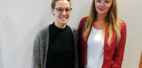 Frau Pöhlker und Frau Meier verstärken das Kollegium