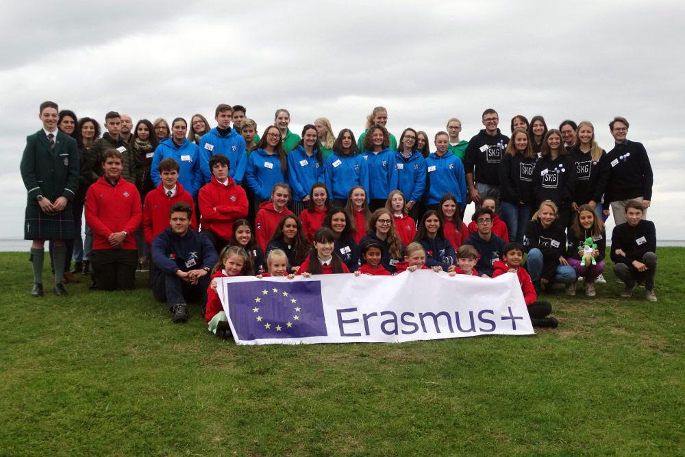 Eramus+ in Ayr: Neue Erkenntnisse und viele neue Freunde