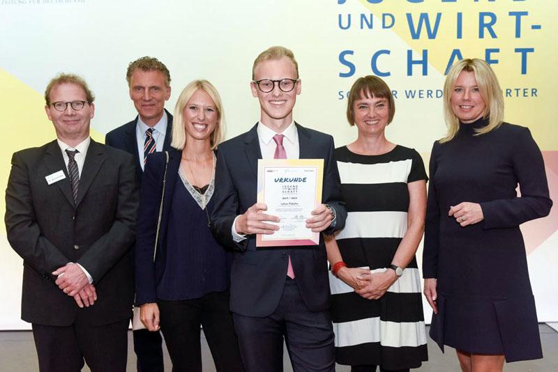 Julius Piduhn in Berlin bei FAZ-Projekt ausgezeichnet