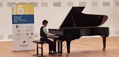 Beachtliche Erfolge bei Klavierwettbewerb