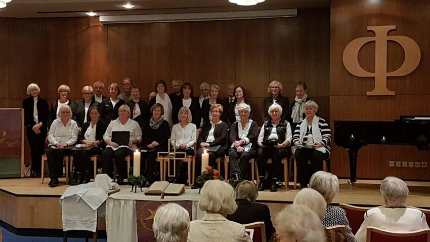 Chor am Mallinckrodt singt erneut im Augustinum