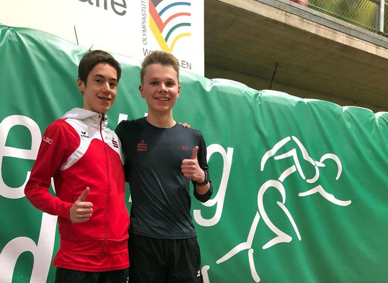 Zwei Mallinckrodt-Schüler bei Leichtathletik-Meeting
