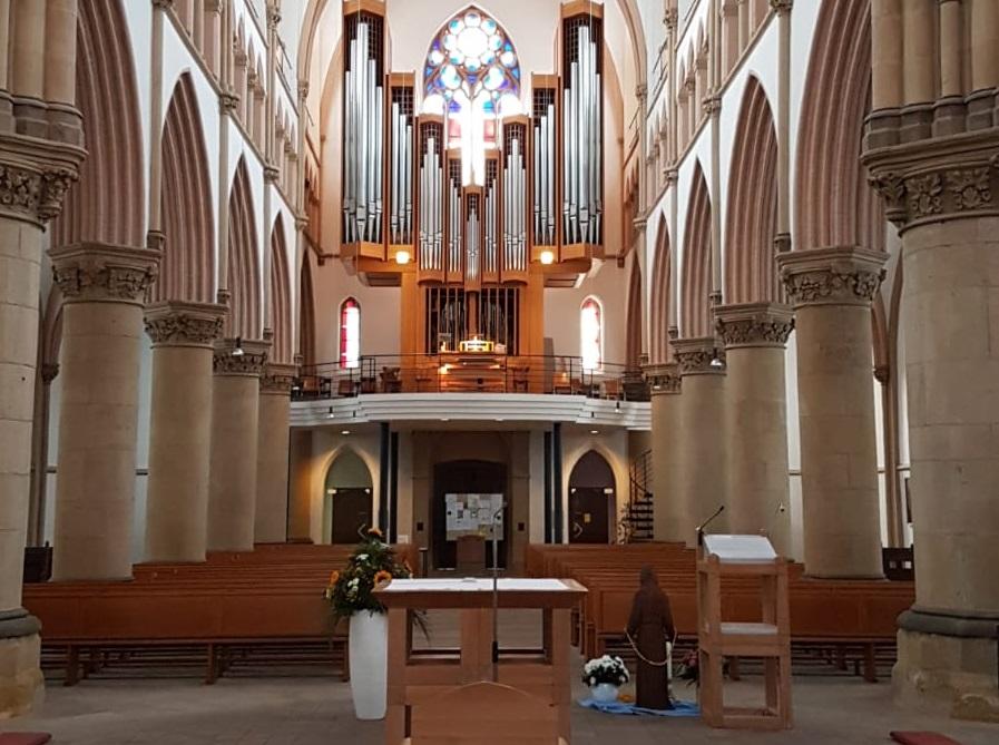 Chor- und Orgelkonzert mit besonderem Gast
