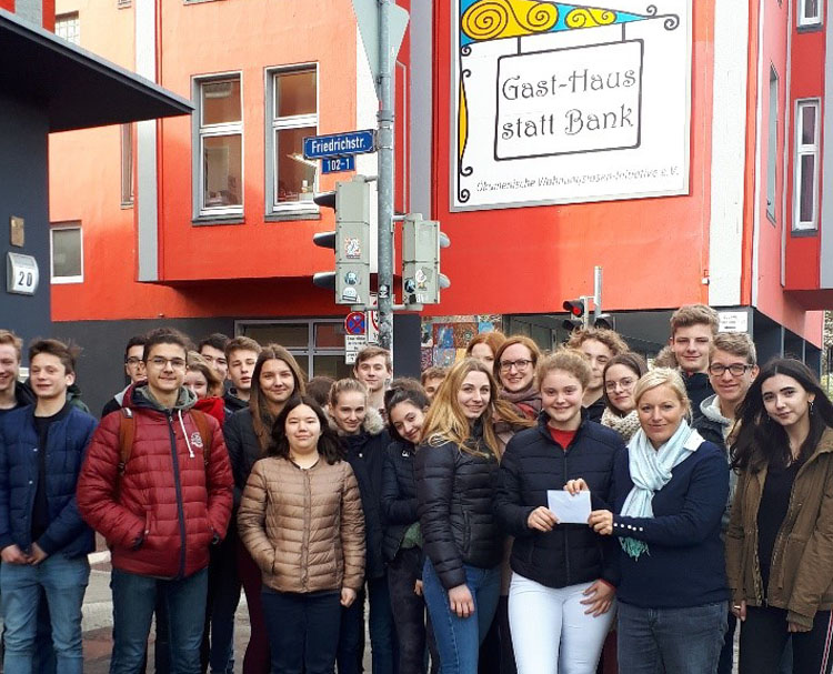 Sozialprojekt statt Basar: Spende an Gast-Haus