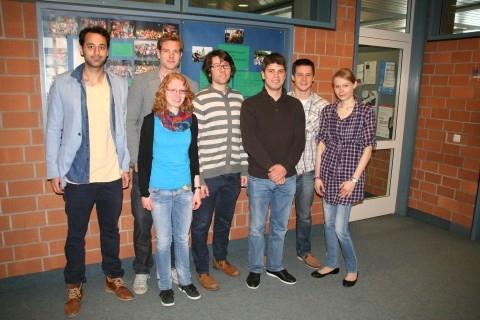 Sieben neue Referendare verstärken das Kollegium