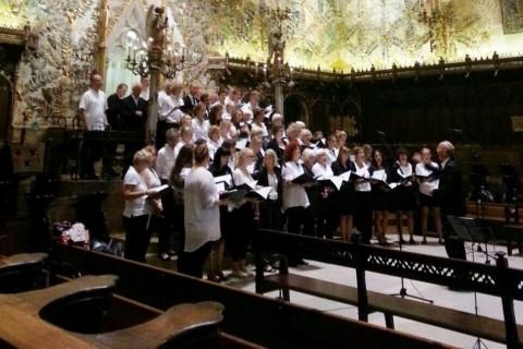 Auftritt in der Kathedrale von Palma als Höhepunkt