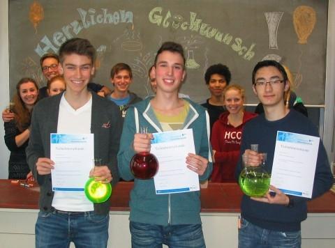 Zweite Runde bei Internationaler Chemieolympiade erreicht