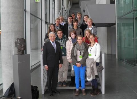 Leistungskurs Sozialwissenschaften besichtigt Berlin