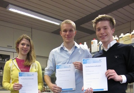 Chemiewettbewerb: Mallinckrodt-Schüler erreichen zweite Runde
